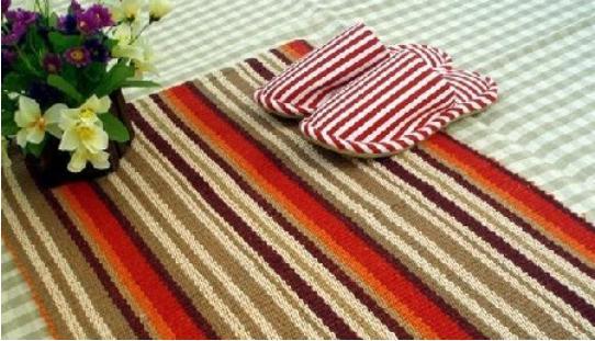 【手工旧毛线编织地毯】手工旧毛线编织地毯图片大全
