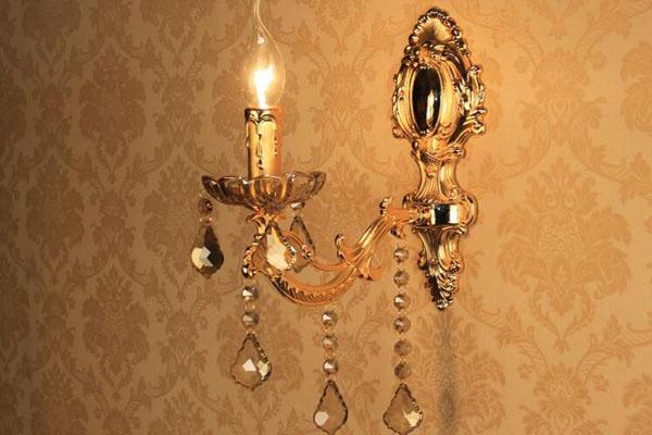 【欧式壁灯】欧式壁灯图片款式及价格介绍