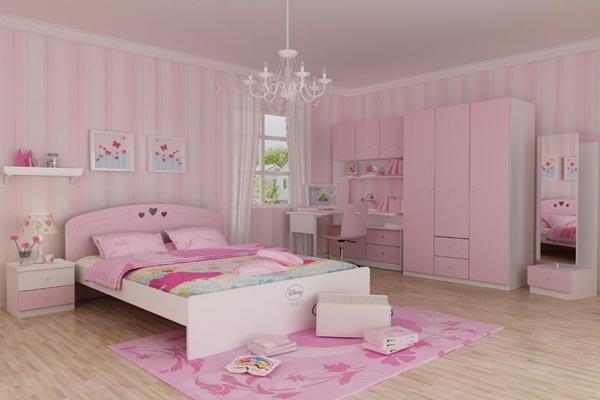 儿童卧室装修效果图大全2016图片