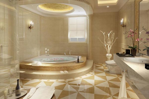 浴室装修效果图欣赏 浴室装修效果图大全