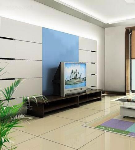 玻璃电视墙效果图5